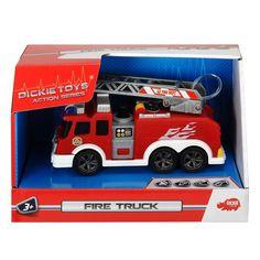 Акция на Пожарная машина со звуковыми и световыми эффектами, 15см 3302002 ТМ: Dickie Toys от Antoshka