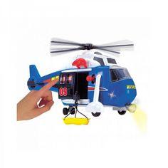 Акция на Функциональный вертолет спасателей 3308356 ТМ: Dickie Toys от Antoshka