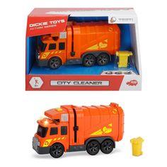 Акция на Функциональный автомобиль Dickie Toys Уборщик города 3302000 ТМ: Dickie Toys от Antoshka