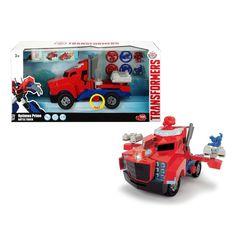 Акция на Автомобиль Dickie Toys Трансформер Оптимус Прайм 3116003 ТМ: Dickie Toys от Antoshka