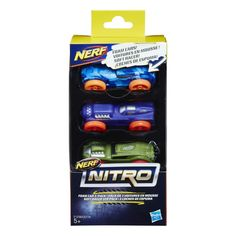 Акция на Набор машинок Nerf Nitro Color Version 8 C0774_E1236 ТМ: Nerf от Antoshka