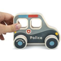 Акция на Машинка Quokka Полицейский патруль QUOKA91PTP ТМ: Quokka от Antoshka
