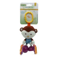 Акция на Игрушка-подвеска Baby Team вибрирующая с кольцами (в ассорт.) 8541 ТМ: BABY TEAM от Antoshka