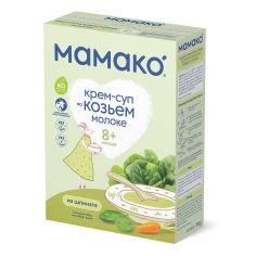 Акция на Крем-суп на козьем молоке Мамако из шпината 150 г   ТМ: Мамако от Antoshka