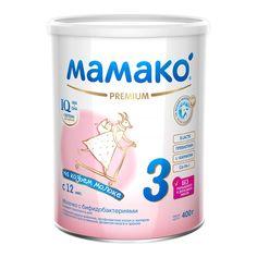 Акция на Молочко с бифидобактериями Мамако 3 Premium на козьем молоке 400 г  ТМ: Мамако от Antoshka