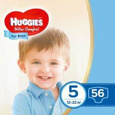 Акция на Подгузники Huggies Ultra Comfort Мega для мальчиков Размер 5 (12-22 кг), 56 шт 2583501 ТМ: Huggies от Antoshka