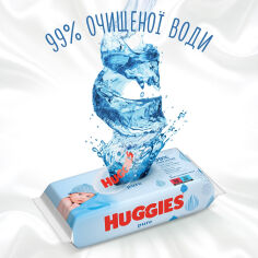 Акция на Детские влажные салфетки Huggies Pure Quadro, 224 шт 2434410 ТМ: Huggies от Antoshka