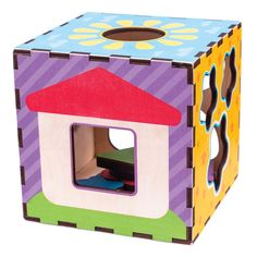 Акция на Интерактивный развивающий куб Quokka Сортер 16х16 QUOKA003A ТМ: Quokka от Antoshka