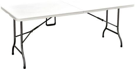 Стол складной Amf Крайслер 180x75x74 пластик белый (521460) от Stylus