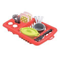 Акция на Набор посуды с сушкой Ecoiffier 956 ТМ: Ecoiffier от Antoshka