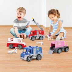 Акция на Машинка LENA Пожарная с лестницей 4457 ТМ: LENA от Antoshka