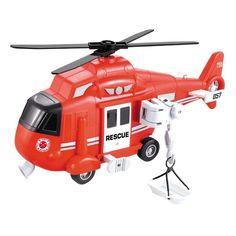 Акция на Вертолет Автопром Городская служба Red 1:16 7674B ТМ: Автопром от Antoshka