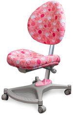 Акция на Кресло Mealux Neapol Pk (арт.Y-136 PK) обивка розовая с шариками от Stylus