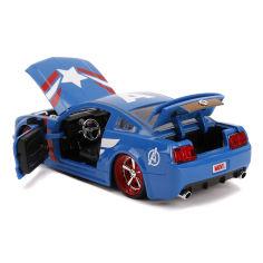 Акция на Машинка Jada Toys Marvel Капитан Америка 253225007 ТМ: Jada Toys от Antoshka