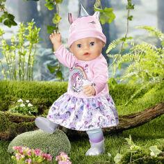 Акция на Кукла BABY born Очаровательный Единорог серия Нежные объятия 43 см 831311 ТМ: BABY born от Antoshka