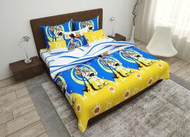 Акция на Комплект постельного белья MirSon Бязь Premium 17-0255 Toys Детский (2200001983694) от Rozetka