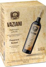 Акция на Вино Вазиани Ркацители белое сухое 3 л 9.5-14% (4820220040268) от Rozetka