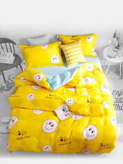 Акция на Комплект постельного белья MirSon Сатин 22-1146 Felikin 2-спальный (2200001979123) от Rozetka