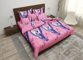 Акция на Комплект постельного белья MirSon Бязь 17-0252 Princess King Size (2200001985537) от Rozetka