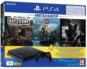 Акция на Sony PlayStation 4 Slim 1TB + God of War + Days Gone + The Last of Us + 3M PSPlus (9382102) от Y.UA