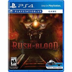 Акция на Until Dawn: Rush of Blood PS4 (PS4, Rus, VR) от Stylus