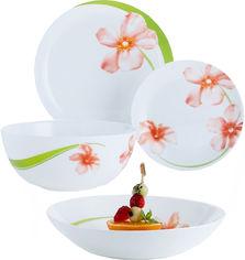 Акция на Сервиз столовый Luminarc Diwali Sweet Impression из 19 предметов (P7078) от Rozetka