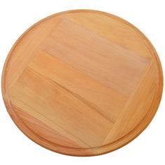 Акция на Разделочная доска под пиццу HOT-KITCHEN Деревянная клеенная из бука 45 см (клн1) от Allo UA