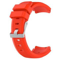 Акция на Ремешок силиконовый ECO универсальный 22 мм Красный BeWatch (1021103) от Allo UA