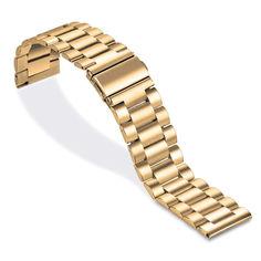 Акция на Браслет универсальный Ремешок 20мм стальной классический Золото BeWatch(1110428) от Allo UA