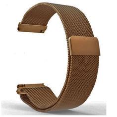 Акция на Браслет для Samsung Galaxy Watch 3 41 mm миланская петля 20mm Ремешок Медный BeWatch (1010209) от Allo UA
