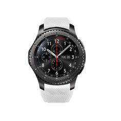 Акция на Ремешок для Samsung Gear S3 | Samsung Galaxy Watch 46 mm силиконовый 22 мм ECO Белый BeWatch (1021102) от Allo UA