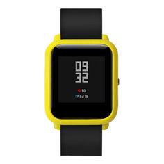 Акция на Накладка бампер для часов Xiaomi Amazfit Bip Желтая (1010520) от Allo UA