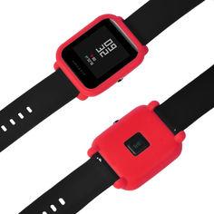 Акция на Силиконовый чехол Tamister на весь корпус для Xiaomi Amazfit BIP Красный (1010603) от Allo UA