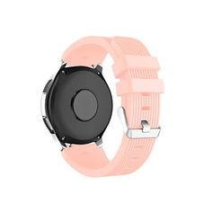Акция на Ремешок для Xiaomi Amazfit Stratos | Pace | GTR 47mm силиконовый 22 мм ECO2 Розовый BeWatch (1022111) от Allo UA