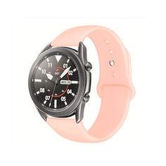 Акция на Ремешок для Samsung Galaxy watch Watch 42mm | Galaxy Watch 3 41 mm силиконовый 20мм Персиковый BeWatch (1010322) от Allo UA