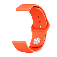 Акция на Ремешок для Samsung Galaxy Watch 42mm | Galaxy Watch 3 41 mm силиконовый 20мм Оранжевый BeWatch (1010307) от Allo UA