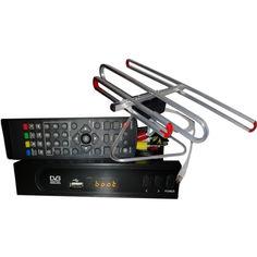 Акция на DVB-T2 + антенна для Т2 улучшенная комнатная от Allo UA