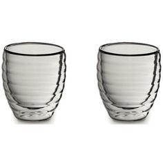 Акция на Набор стаканов с двойными стенками KELA Cesena 80 мл (12410) от Allo UA