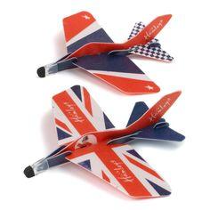 Акция на Набор самолетов-планеров Hamleys USA, 2 шт. 780031 ТМ: Hamleys от Antoshka