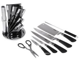 Акция на Набор ножей Lora NS21SETKN/BK с подставкой из 8 предметов (72-050) от Rozetka