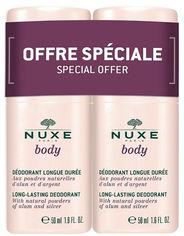Набор дезодорантов Nuxe Body Long-lasting Deodorant 2 х 50 мл (3264680013485) от Rozetka