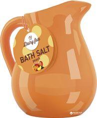 Aроматическая соль для ванны Delia cosmetics Dairy Fun Персик 500 г (5901350447987) от Rozetka