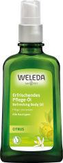 Освежающее масло для тела Weleda Цитрусовое 100 мл (4001638500845) от Rozetka