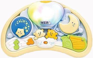 Акция на Музыкальный ночник Weina Мишки на воздушном шаре (2147) (4893062021474) от Rozetka