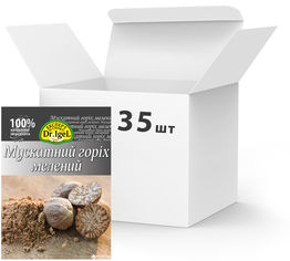 Упаковка ореха мускатного Dr.IgeL молотого 10 г х 35 шт (14820155170747) от Rozetka