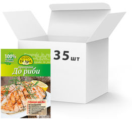 Упаковка приправы Dr.IgeL к рыбе 20 г х 35 шт (14820155170099) от Rozetka