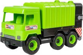 Акция на Мусоровоз Tigres Middle truck Зеленый (39484) от Rozetka
