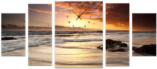 Акция на Настенные часы ART-LIFE COLLECTION 1C-76-5p-W от Rozetka