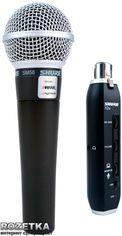 Микрофон Shure SM58 + X2u от Rozetka