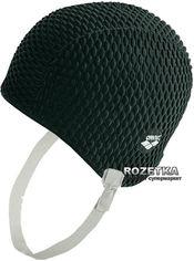 Акция на Шапочка для плавания Arena Gauffre 91010-50 Black (3468332716582) от Rozetka